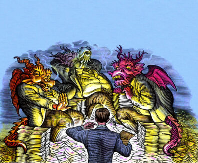 Dragon's Den by Bill Sanderson