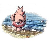 Piggy Bank by Bill Sanderson