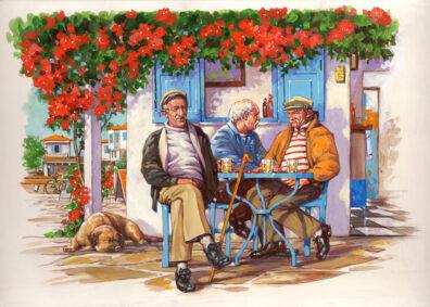 Saga Taverna by Bill Garland