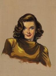 Lauryn Bacall by Bill Garland