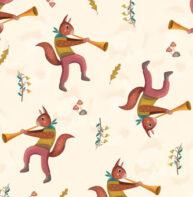 Squirrels by Javier Gonzalez Burgos