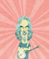 Billy Connolly by Alexander Jackson