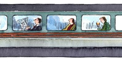 Train by Bob Wilson
