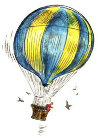 Hot Air Balloon by Bob Wilson