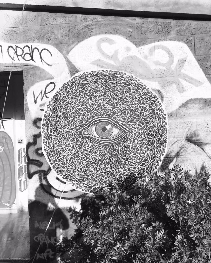 Paste Up Eye by Joan Tarrago