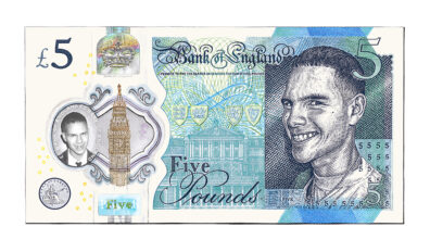 slowthai Banknote by Dave Hopkins