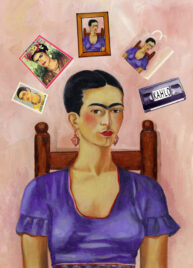 Frida Kahlo by Pastiche