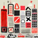City With Cars by Oxo