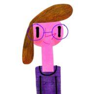 Purple Woman by Oxo