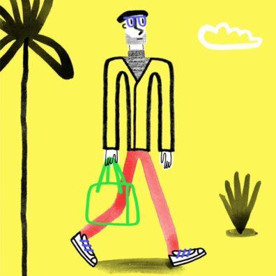 Walking Man by Oxo
