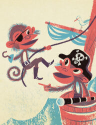 Monkey Pirates by Christopher Nielsen