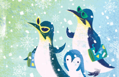 Penguins by Christopher Nielsen