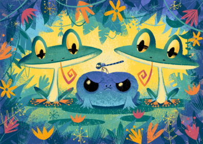 Frogs by Christopher Nielsen