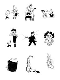 Plage Control book illustrations by Marc Torrent