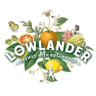 Lowlander logo by Darren Whittington