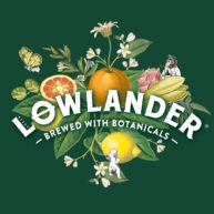 Lowlander logo green by Darren Whittington