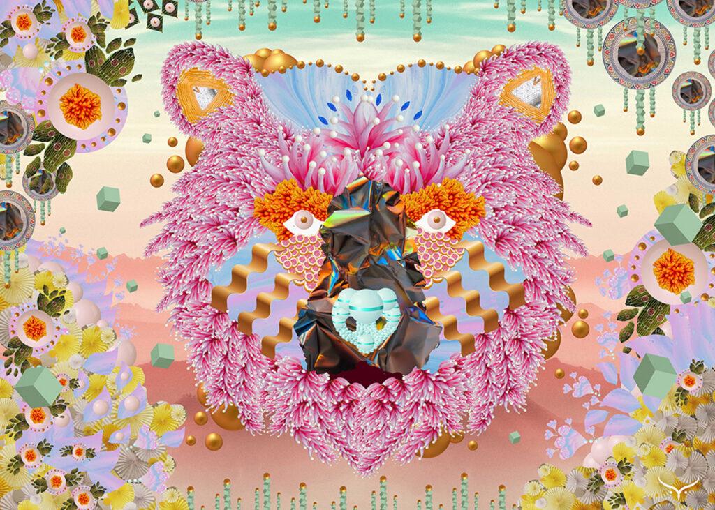 Pink-Bear-by-Iris-de-Luz-