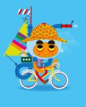 Sailing Bike by Mikko Umi