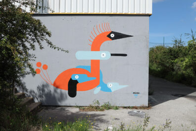 Birds Mural by Mikko Umi