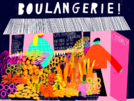 Boulangerie by Beatrice Simpkiss