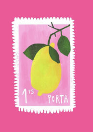 Lemon Stamp by Beatrice Simpkiss